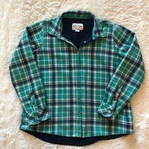 Orvis Lined Flannel Button Up Jacket